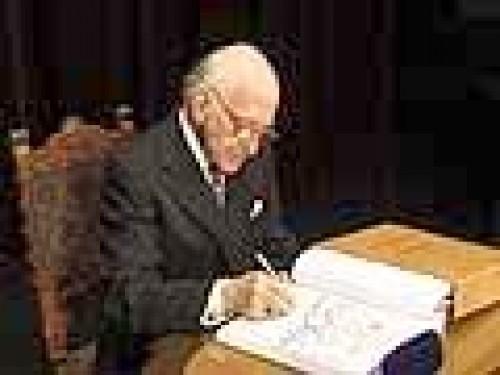 Dirigent František Kajetán Zedínek